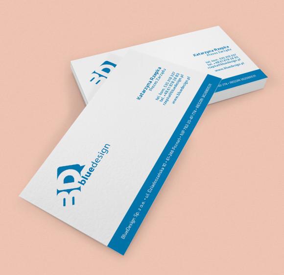 Blue Design – Wizytówka